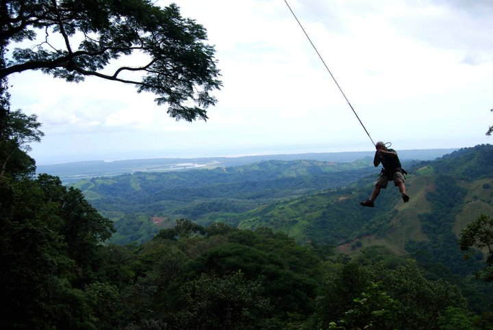 tarzan swing at osa mountain village